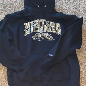 Authentic western Michigan sweatshirt